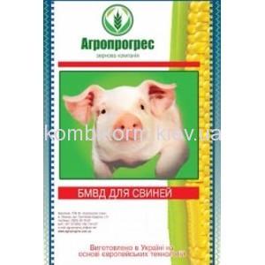 Агропрогрес  Концентрат БМВД  для свиней УНІВЕРСАЛ  10-15 % 81-185 день